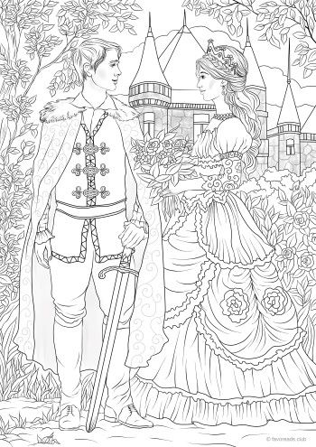 Fairy Tale Coloring Pages Free Download Amazing Design