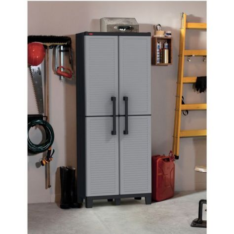 Storage Cabinet Outdoor Garage Kitchen Utility Large Patio Tall Adjule Shelf Everything You Need Cabinets
