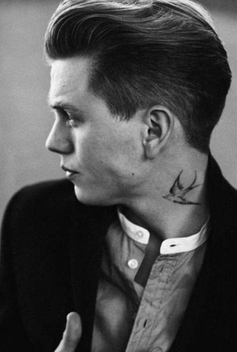 This Charming Man En 2020 Tatuajes Cuello Hombres Tatuajes