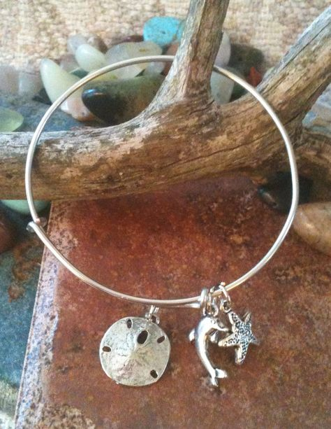 Alex and ani Inspired Beach Bangle by GrecoGirlJewelry on Etsy, $13.50