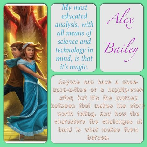Quotes by Alex Bailey from the Land of Stories