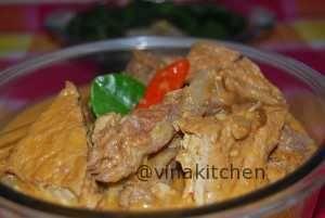 Resep Dan Cara Membuat Resep Sambel Tumpang Koyor Khas Salatiga Yang Simple Gampang Dibua Food Chicken Meat