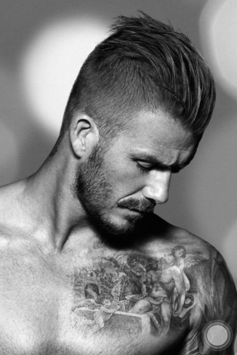 If you are going to best saloon for your new haircut, beard style like a sports man David Beckham hairstyle then here you can find his latest look pictures.