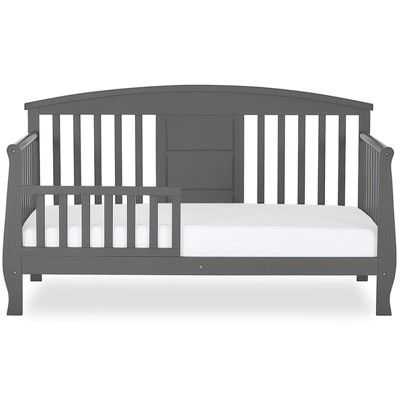 Wood Dallas Toddler Bed In Steel Gray Dream On Me In 2019