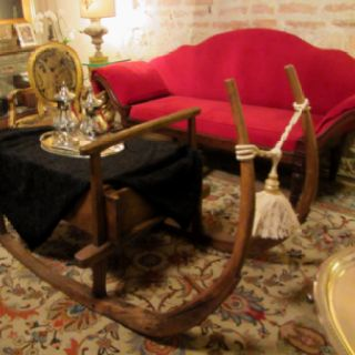 Antique Sled Coffee Table At Heberlingcompany.com | Tables | Pinterest |  Xmas