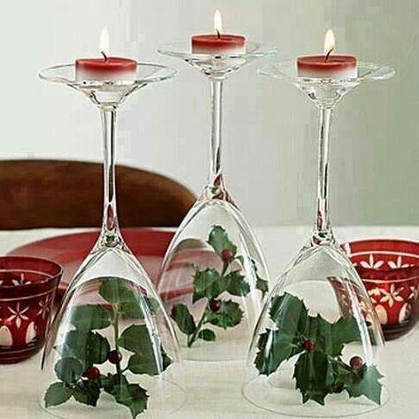 Leuk op tafel met kerstdiner. Kan natuurlijk met andere decoratie voor andere…