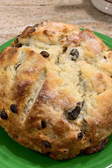 Amazingly Easy Irish Soda Bread Recipe