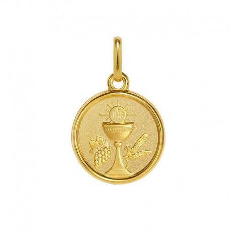 b66f460734d Medalla de oro rostro Virgen con manto (1603176M) en 2019 ...