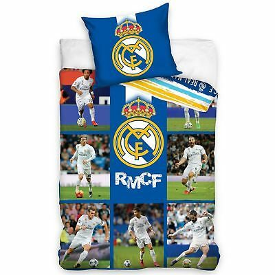 Manchester United Pulse Reversible Single Duvet Quilt Cover Set Bed Linen Duvets