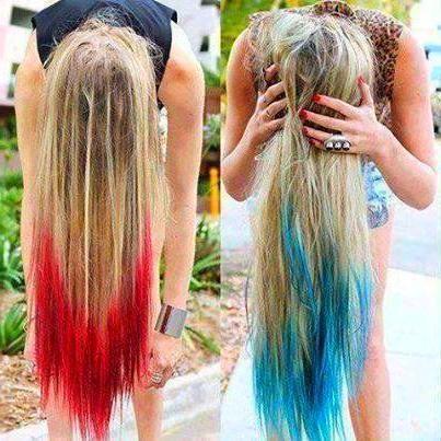 Tissue Paper Hair Dye Crepe Paper Hair Color Trend Diy Hair Dye Hair Dye For Kids Diy Hair Color