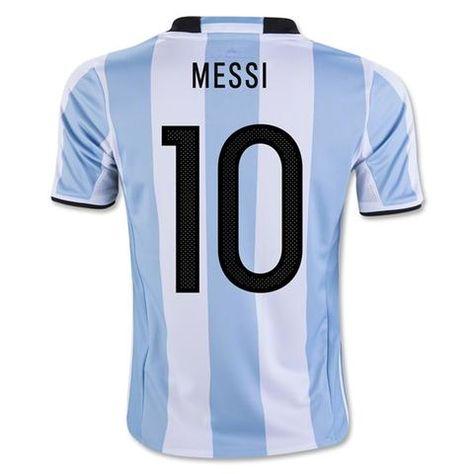 0eef7cc0b17 Argentina 2016/17 Men HomeSoccer Jersey MESSI #10