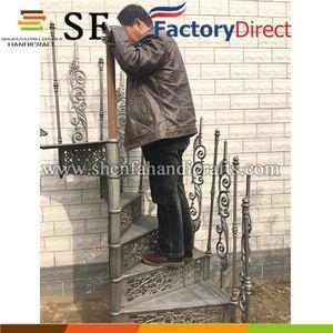 Best Source Indoor Decorative Cast Iron Spiral Staircase 400 x 300