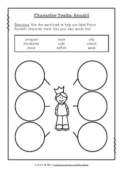 The Paper Bag Princess Literacy Activities Literacy Activities
