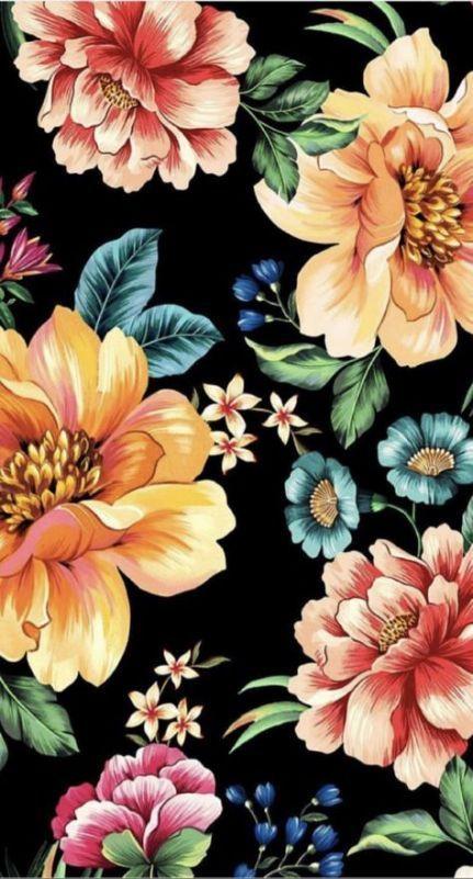 49 Ideas For Flowers Design Pattern Draw Wallpapers Design Draw Flowers Ideas Pattern Wallpapers In 2020 Floral Wallpaper Flower Wallpaper Flower Pattern Design