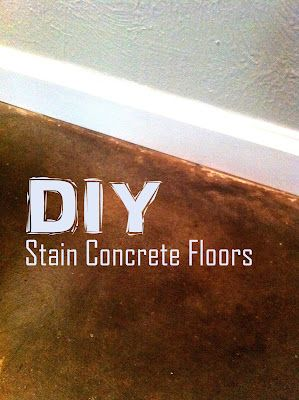 Diy stained concrete floors without the acid stain and so much diy stained concrete floors without the acid stain and so much cheaper for the home pinterest acid stain stained concrete and concrete floor solutioingenieria Choice Image