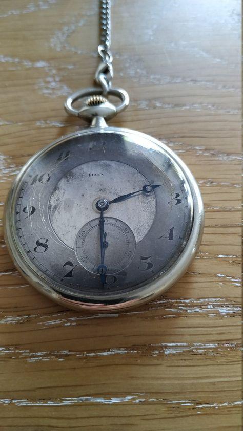 1900's Argenta Doxa pocket Swiss watch
