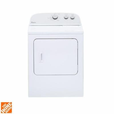 Whirlpool 7 0 Cu Ft Electric Dryer In White Electric Dryers Home Depot Home Depot Coupons