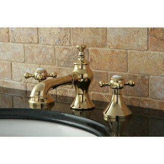 brass bathroom faucets widespread