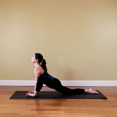 Open Lizard Pose for sciatica relief