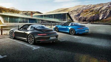 Bon New Porsche 911 Targa 4 U0026 Carrera 4 Models Introduced