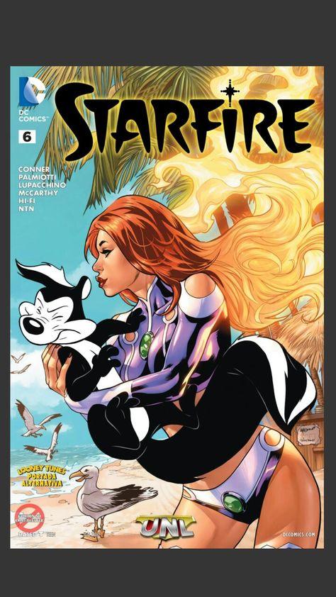 #starfire #comic #robin #teentitans #dickgrayson   Comics