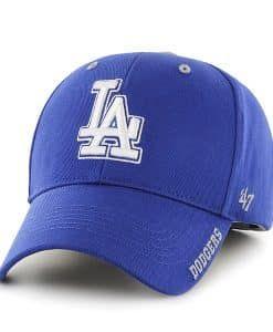 47 Los Angeles Dodgers Clean Up Charcoal Adjustable Dad Cap