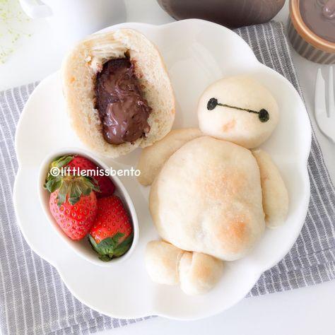 Recipe for Baymax Nutella Milk Bread   Recipes, Bread ...