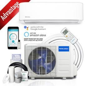 Mrcool Advantage 3rd Gen 24000 Btu 1000 Sq Ft Single Ductless Mini Split Air Conditioner With Heater A Air Conditioner With Heater Ductless Mini Split Ductless