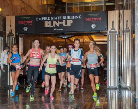 February 3 2016 Runners Compete In The 39th Annual Empire State Building Run Up By Marmotmountain With Cha With Images Empire State Running Building An Empire