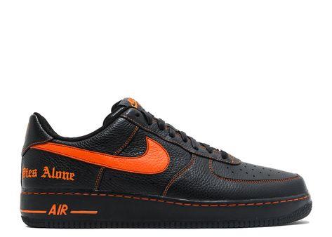 Official Vlone X Nikelab Air Force 1 Low Noir Orange