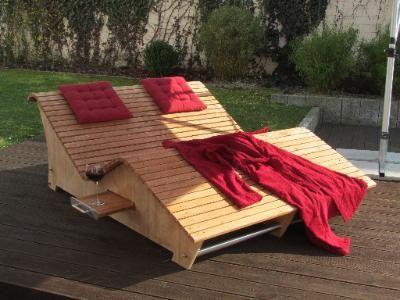 Doppelliege Holz Gartenmobel 1 Deutsche Dekor 2020 Wohnkultur Online Kaufen In 2020 Doppelliege Holz Holzliege Doppelliege