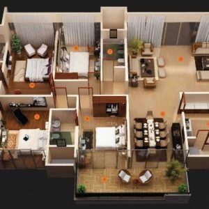 Marvelous 35 X 70 West Facing Home Plan Small Home Plans