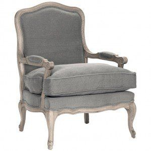 French Gray Amour Chair Upholstered Chairs French Country Chairs Furniture
