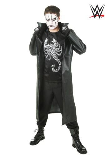 Wwe Men S Sting Costume Men Wwe Costume Top Halloween