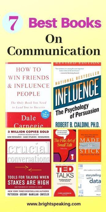 7 Best Books on Communication Skills - Brightspeaking