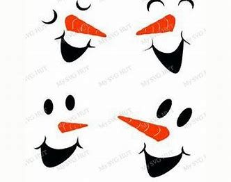 picture about Printable Snowman Face Patterns called Picture end result for Printable Snowman Confront Habit Xmas