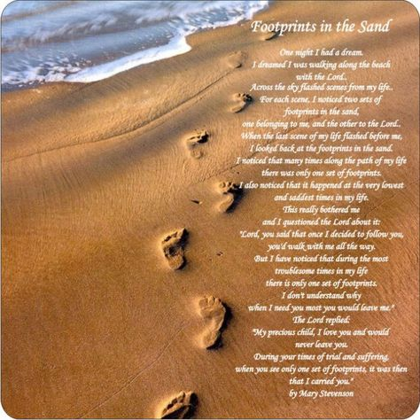 image regarding Footprints in the Sand Printable identified as Checklist of Pinterest footprints inside the sand poem printable