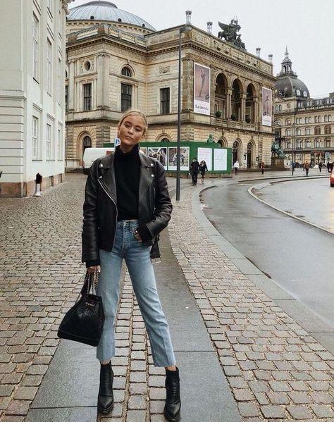 светлые свободные джинсы -  - #HairstyleCasual