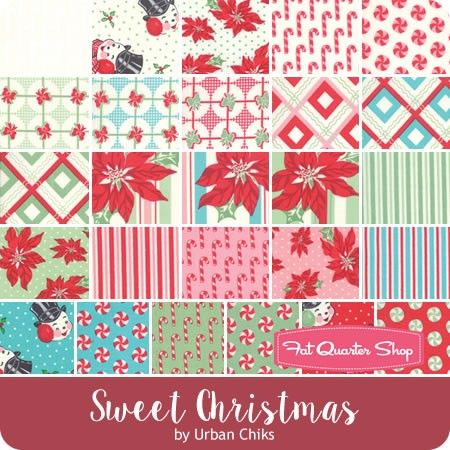 CHRISTMAS FABRIC FAT QUARTER BUNDLE 100/% COTTON SEWING MATERIAL QUILTING CRAFTS