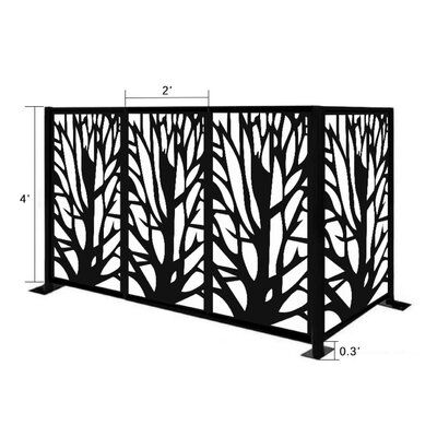 E Joy 4 5 Ft H X 6 5 Ft W Metal Fencing Metal Fence Panels Privacy Screen Decorative Fence Panels