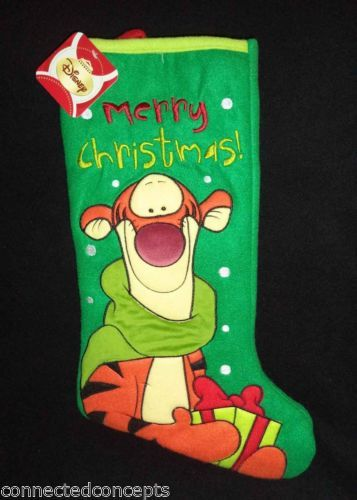 Tigger Christmas Stocking.The Games Factory 2 Hang The Christmas Stockings