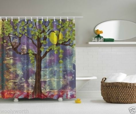 Shower Curtain 3d Hologram Affect Whimsical Classy Tailormade 3759