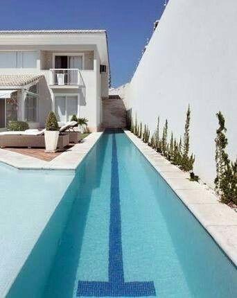 Pool Pools Poolhouse Swimming Swimmingpools Backyardpool Poolideas Indoor Pool Design Pool Houses Lap Pool Designs