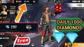 How To Get Free Diamonds In Free Fire Get Unlimited Diamond In