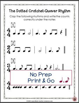 Music Lessons For Kids Music Posters Music Rhythm Dotted Notes Anchor Charts And Worksheets Musicedu Music Lessons For Kids Music Lessons Music Theory