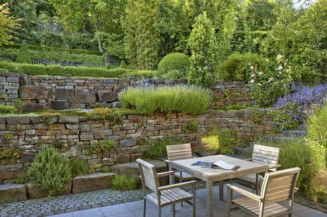 10 best Garten images on Pinterest Gardens, Landscaping ideas - garageneinfahrt am hang
