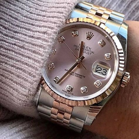 Rolex Datejust swiss-automatic mens Watch 6824 (Certified Pre-owned)