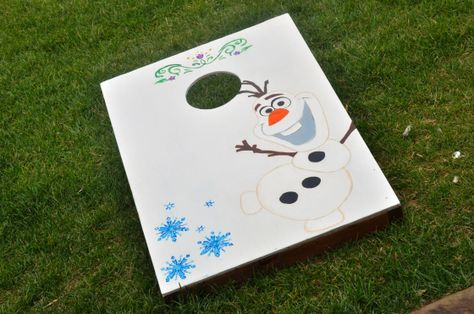 Prime Bean Bag Toss For Frozen Birthday Party Olaf Corn Husk Toss Machost Co Dining Chair Design Ideas Machostcouk