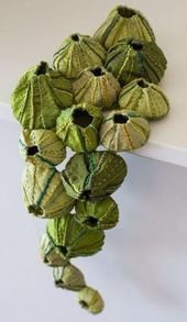 Barnacles by Sandra Golbert soft sculpture fiber textile art