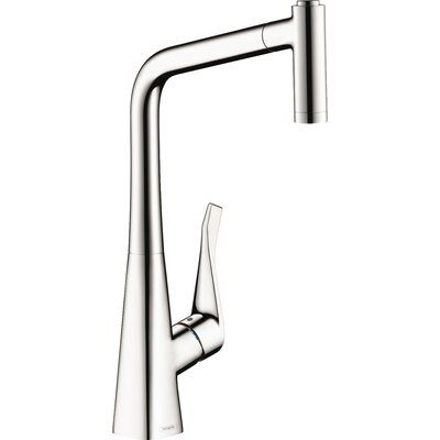 Hansgrohe Metris Pull Out Single Handle Kitchen Faucet In 2020